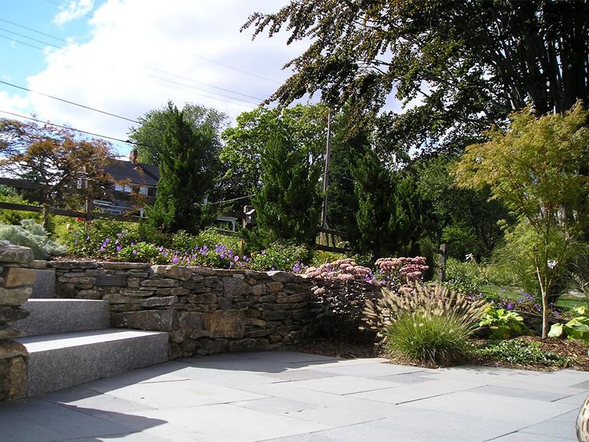 Clark Farms Services Residential Landscape Plum Point 0000s 0000 Steps
