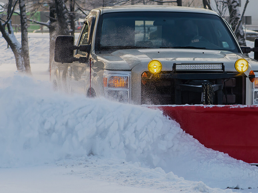 Clark Farms Snow Removal Services Card
